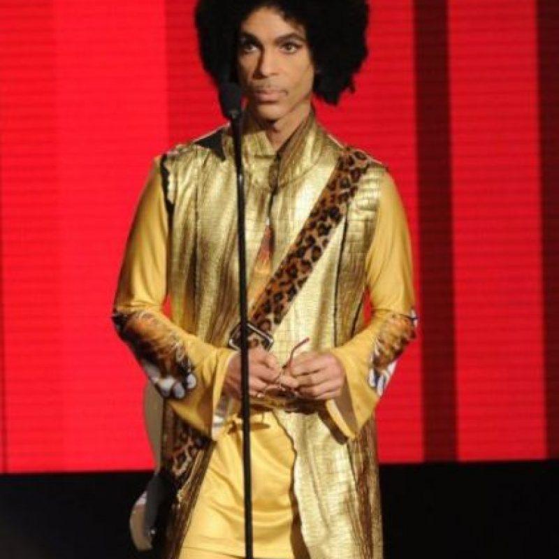 En 2004 Prince ingresó al Salón de la Fama del Rock and Roll. Foto:Grosby Group. Imagen Por: