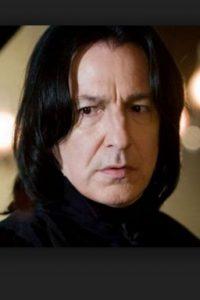 """Alan Rickman, mejor conocido como """"Snape"""" en el universo de """"Harry Potter"""". Foto:Getty Images. Imagen Por:"""