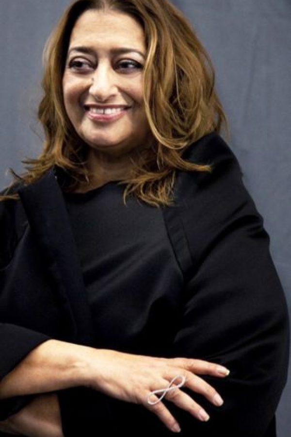 Zaha Hadid fue una arquitecta anglo-iraquí, procedente de la corriente del deconstructivismo. Foto:Getty Images. Imagen Por: