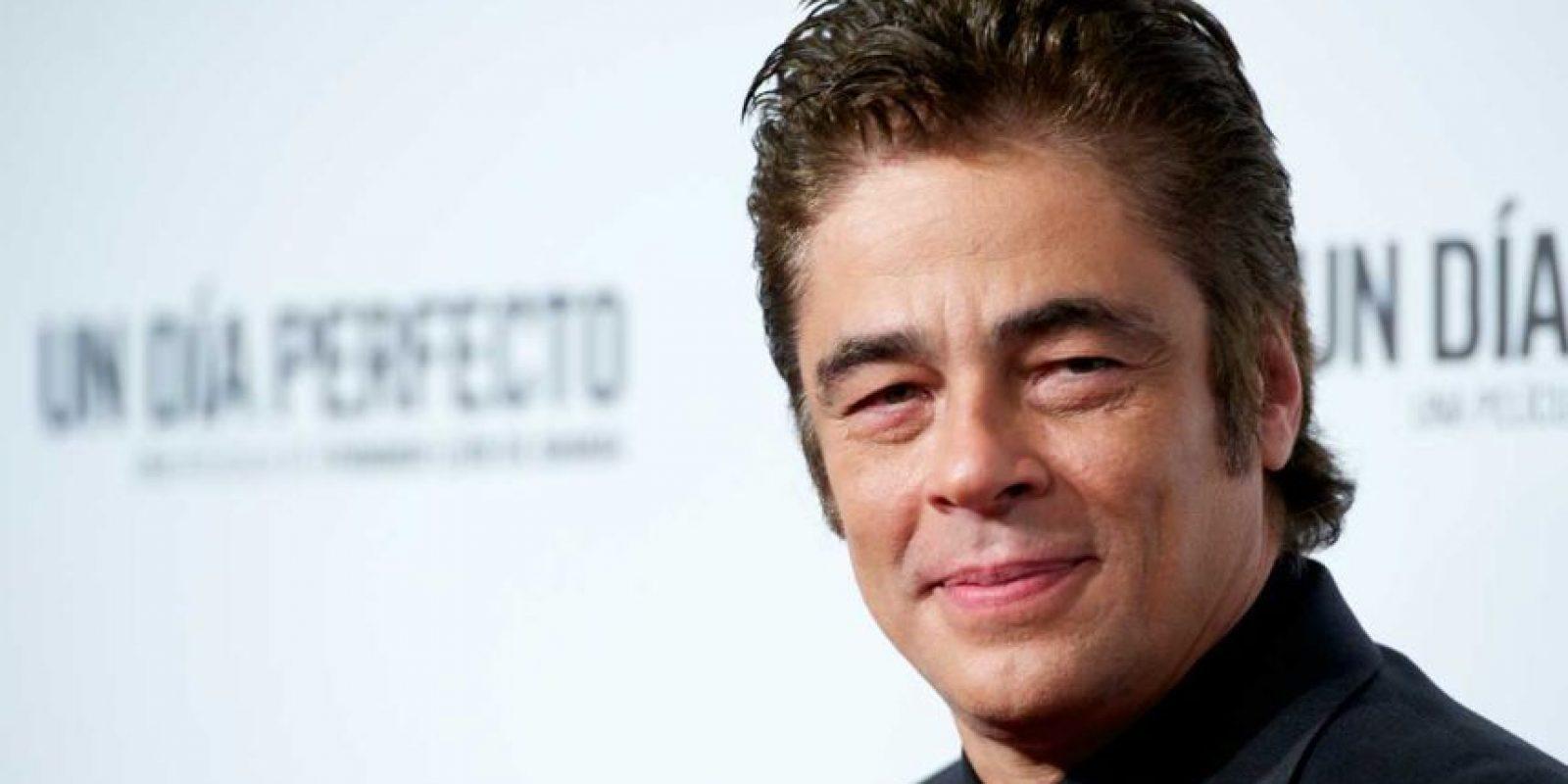 Además, Benicio del Toro entrará a la historia como antagonista. Foto:Getty Images. Imagen Por: