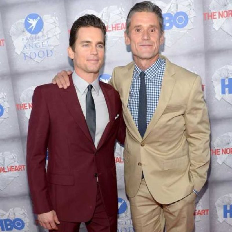 Matt Bomer y Simon Halls Foto: Getty Images. Imagen Por: