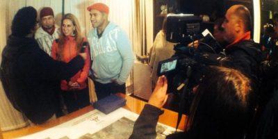 """Cuya versión en español fue """"Beso en la Boca"""". Foto:Facebook.com/AxeBahiaOficial. Imagen Por:"""
