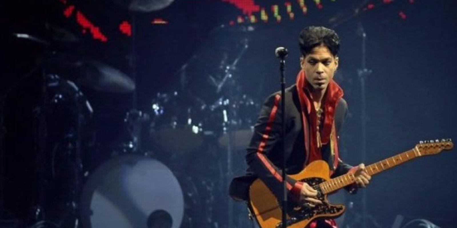 En 2004 Prince ingresó al Salón de la Fama del Rock and Roll Foto:Grosby Group. Imagen Por: