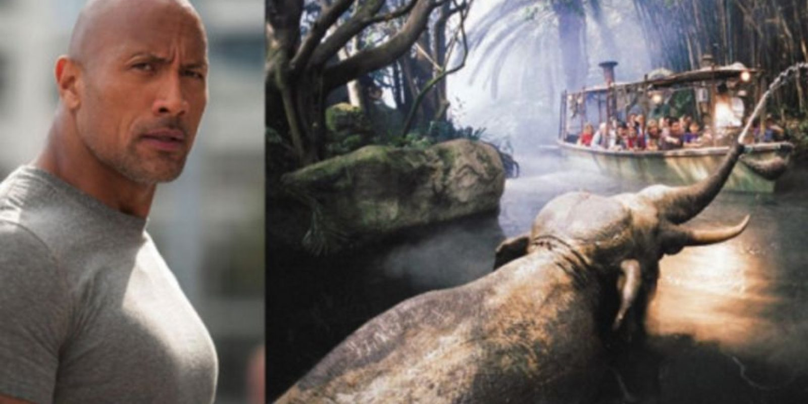 Dwayne Johnson estará en Jungle Cruise Foto: Getty Images/Disney. Imagen Por: