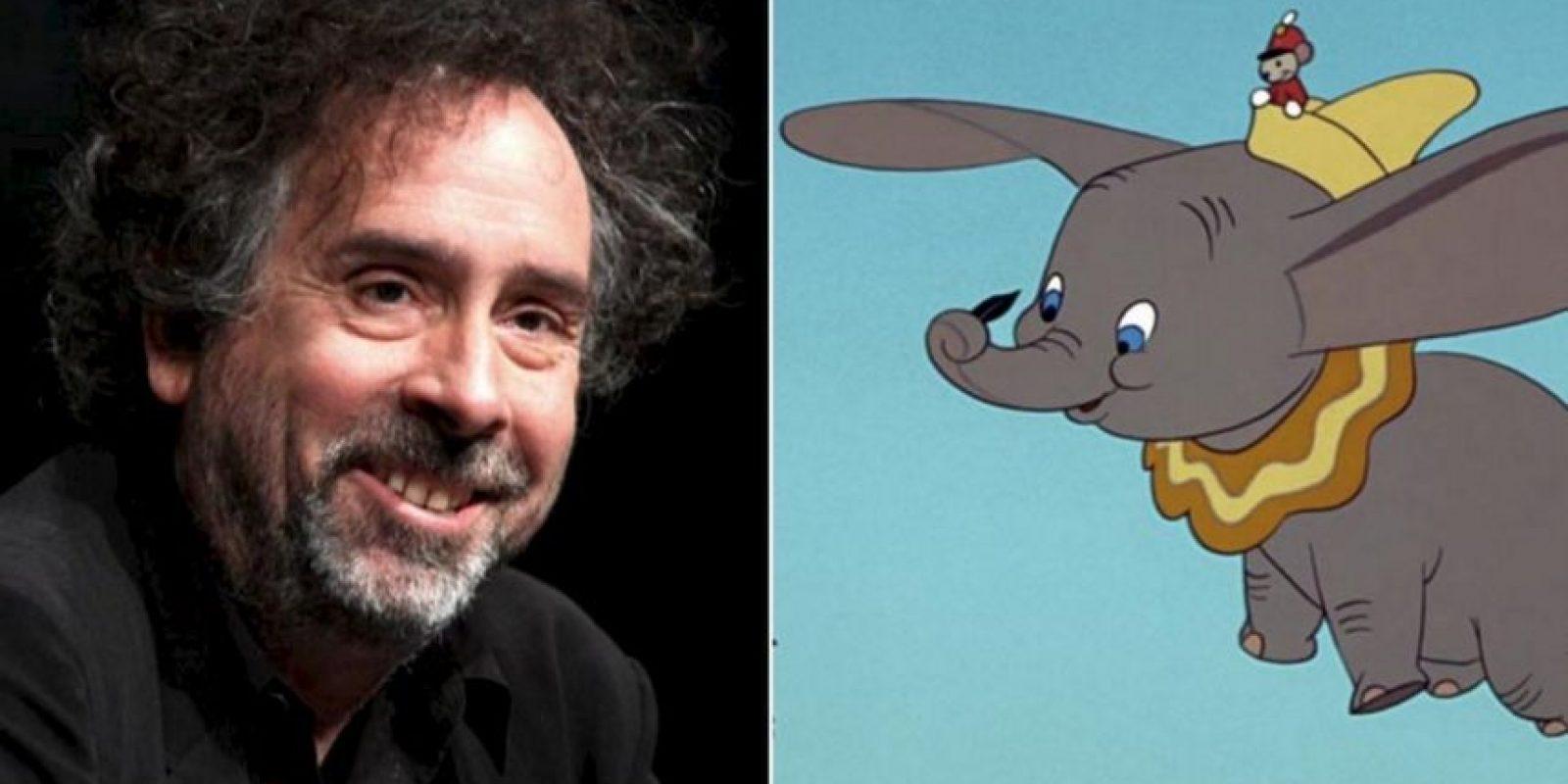 Dumbo será dirigida por Tim Burton Foto:Getty Images/Disney. Imagen Por: