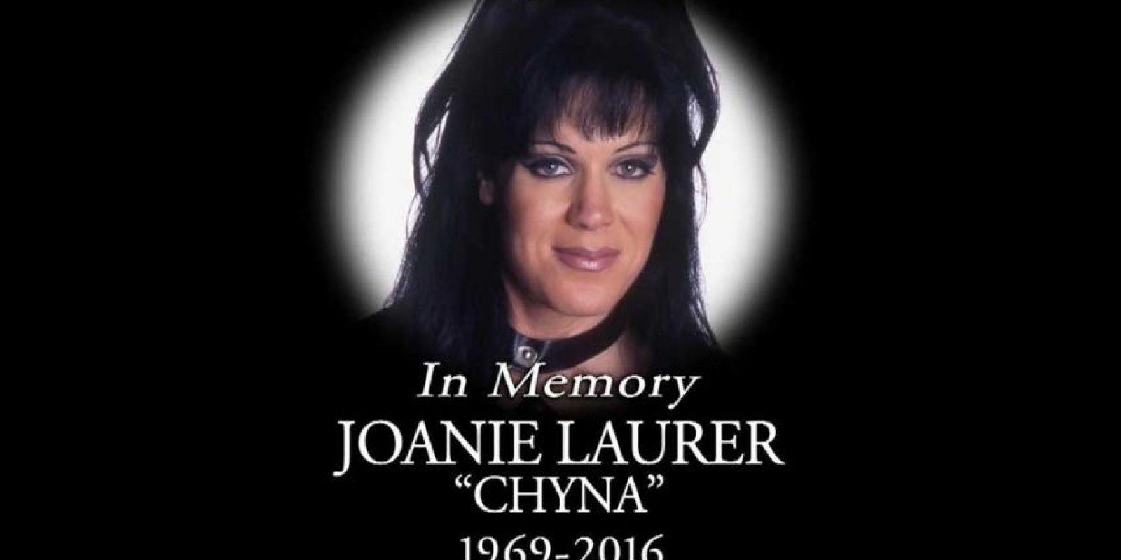 La muerte de Chyna sorprendió al mundo del deporte. Foto:WWE. Imagen Por: