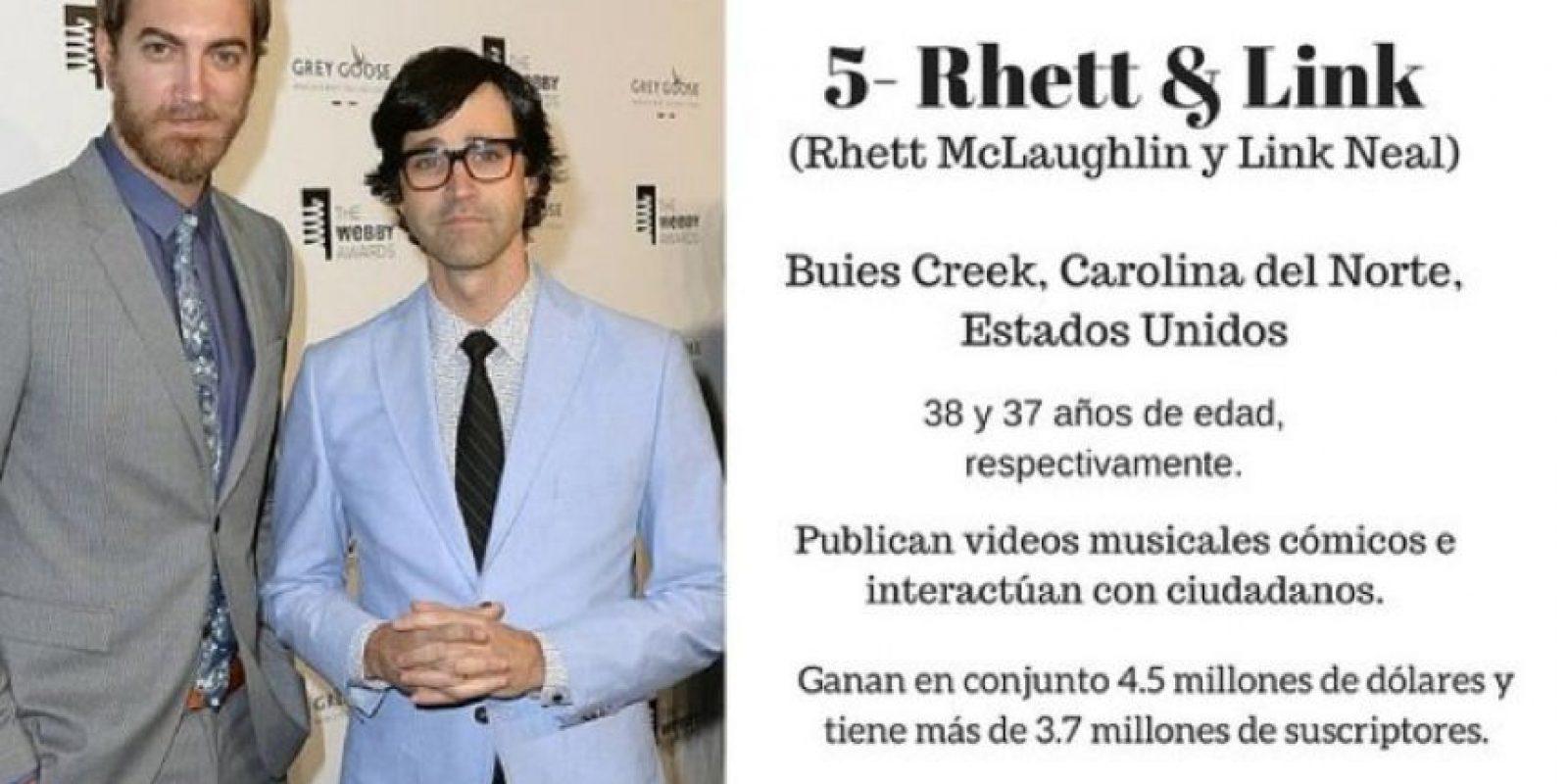 Rhett & Link Foto:Getty Images. Imagen Por: