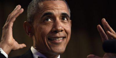 El presidente de Estados Unidos, Barack Obama, habla durante la cena anual de Corresponsales de la Casa Blanca, en el Washington Hilton, en Washington, el sábado 30 de abril de 2016.. Imagen Por: