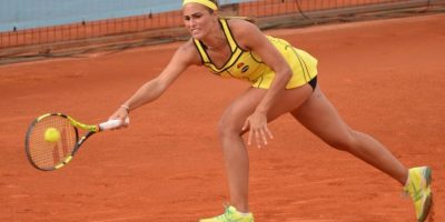 Puig quedó eliminada en la primera ronda de torneo de Madrid. Foto:Twitter. Imagen Por:
