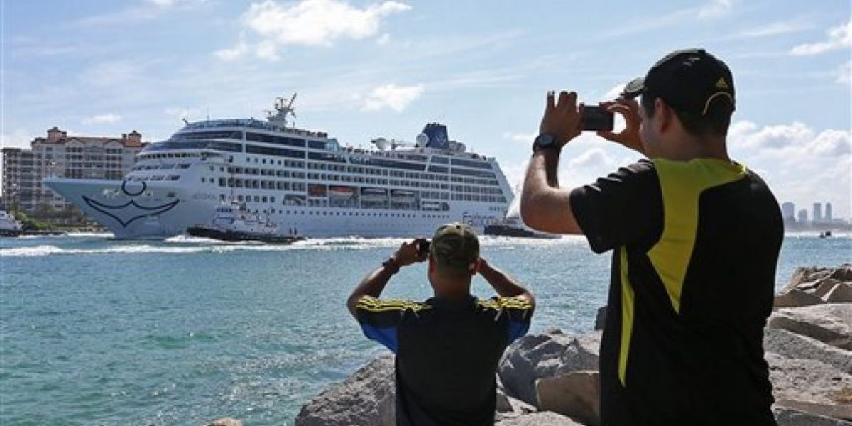 Atraca primer crucero tras 40 años en Cuba