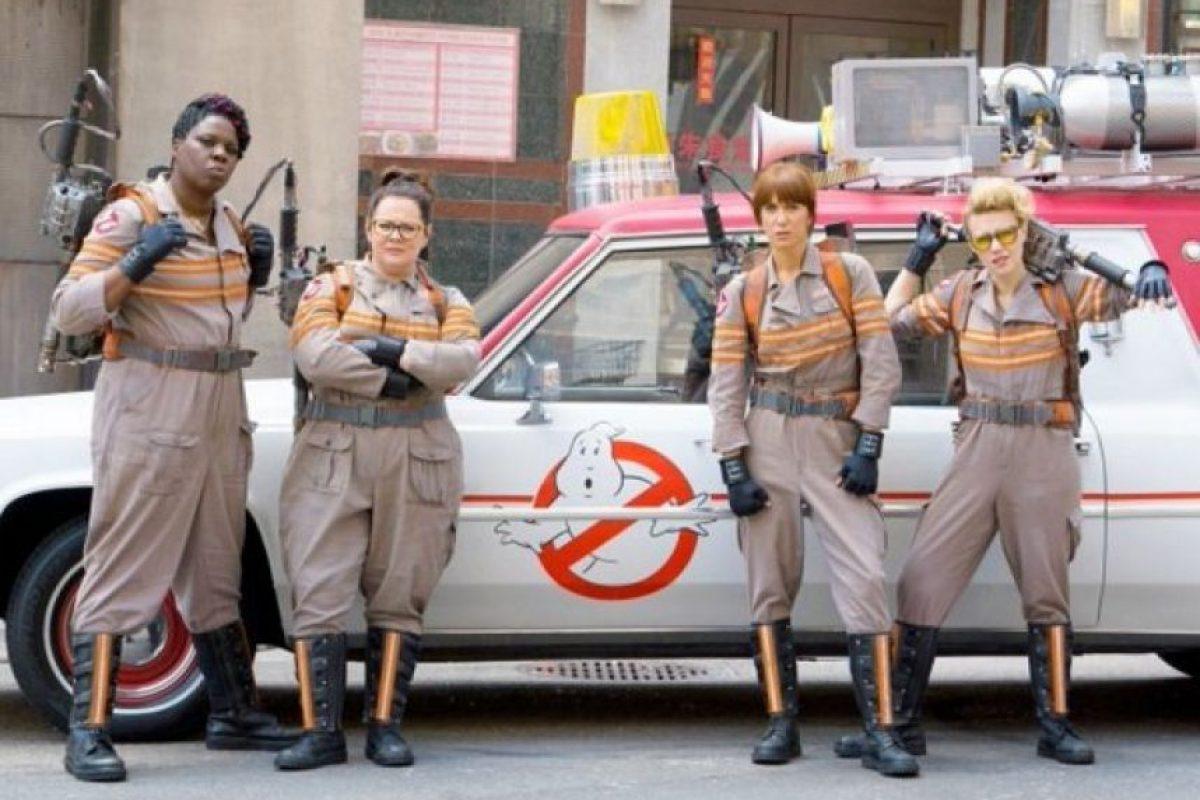 Remake de la mítica película de 1984 Foto:Sony. Imagen Por: