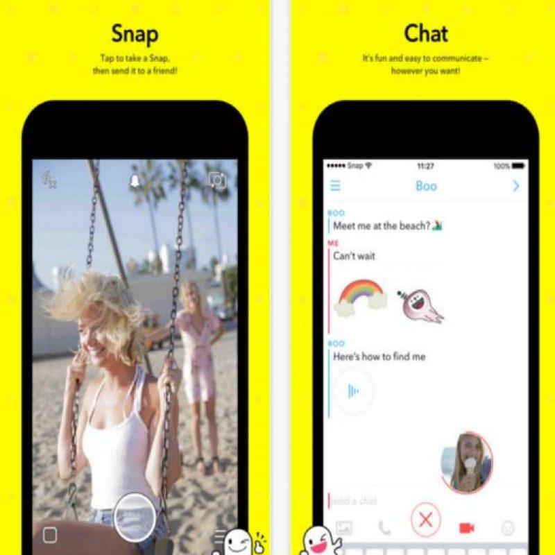 Muchas personas no saben cómo usarla. Foto:Snapchat. Imagen Por: