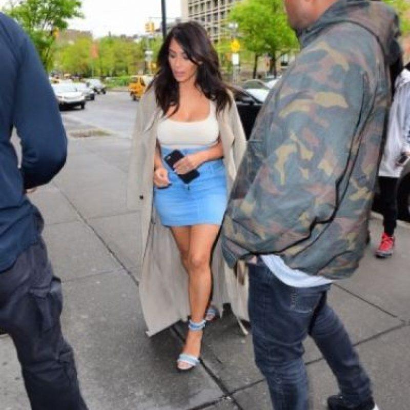 Kim Kardashian ha perdido más de 30 kilos (70 libras) Foto:Grosby Group. Imagen Por: