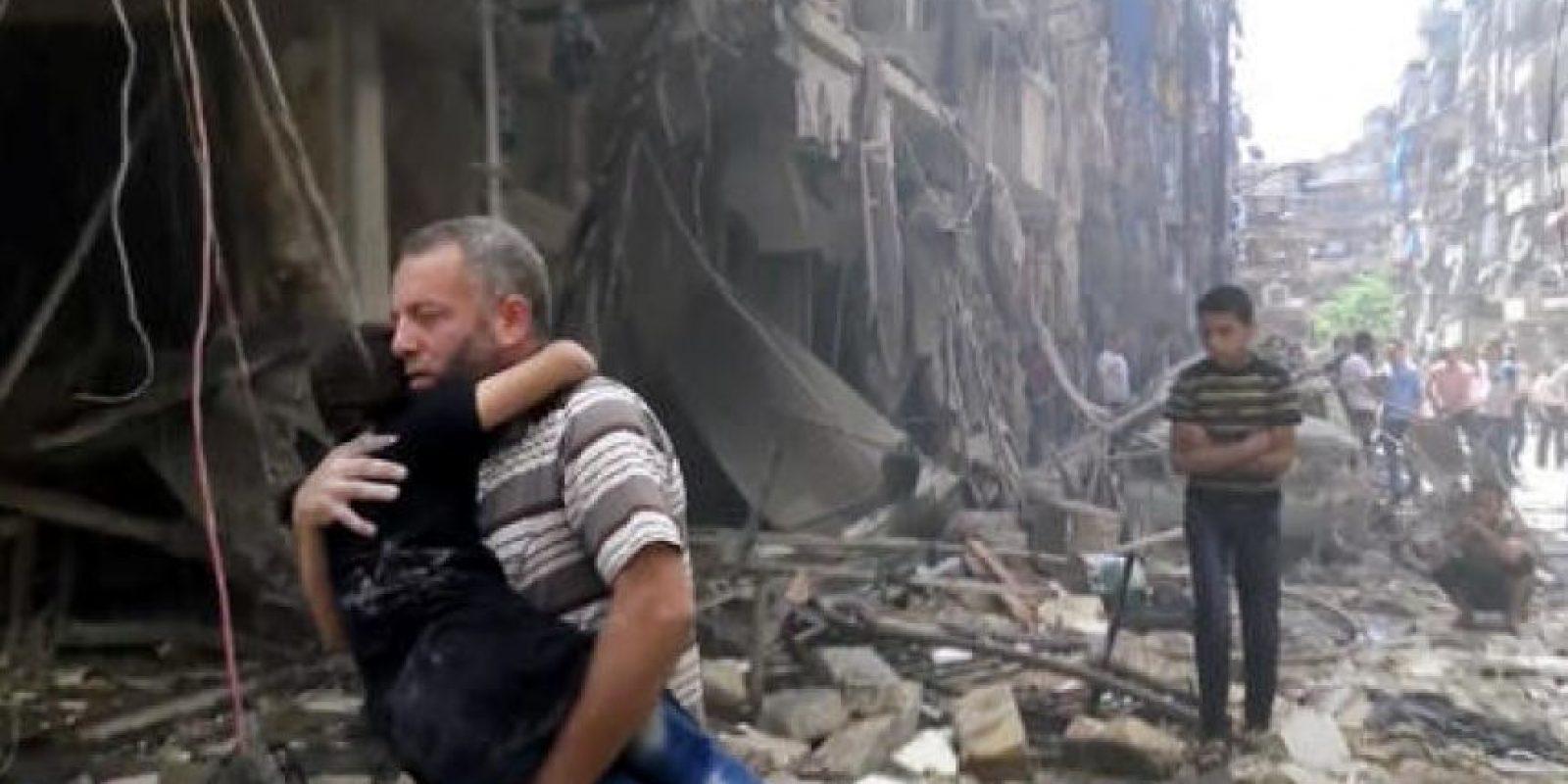 Se ha convertido en la segunda ciudad más devastada producto de la guerra. Foto:AP. Imagen Por: