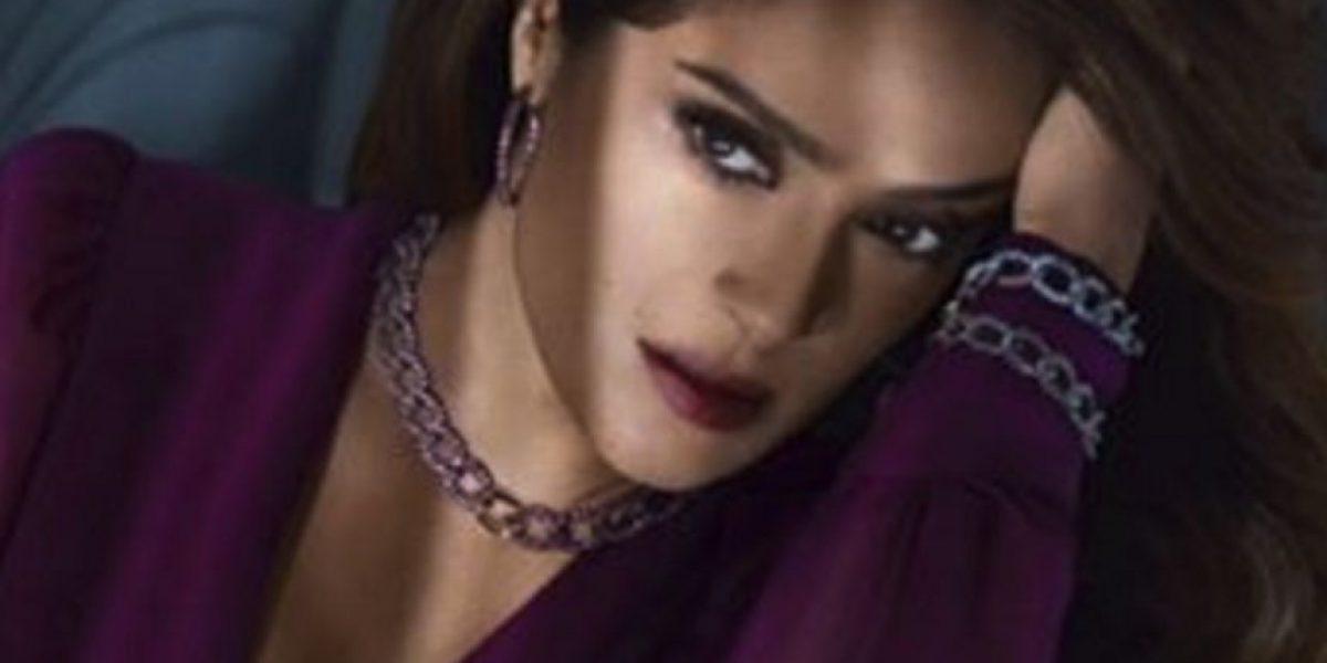 Instagram: Salma Hayek como nunca se había visto