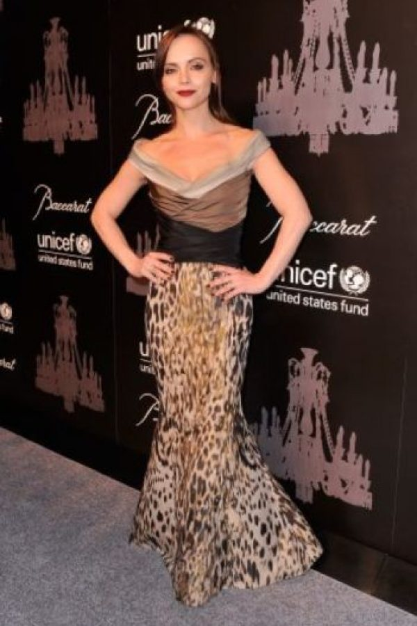 Christina Ricci se lastimaba para sentir placer. Foto:Getty Images. Imagen Por: