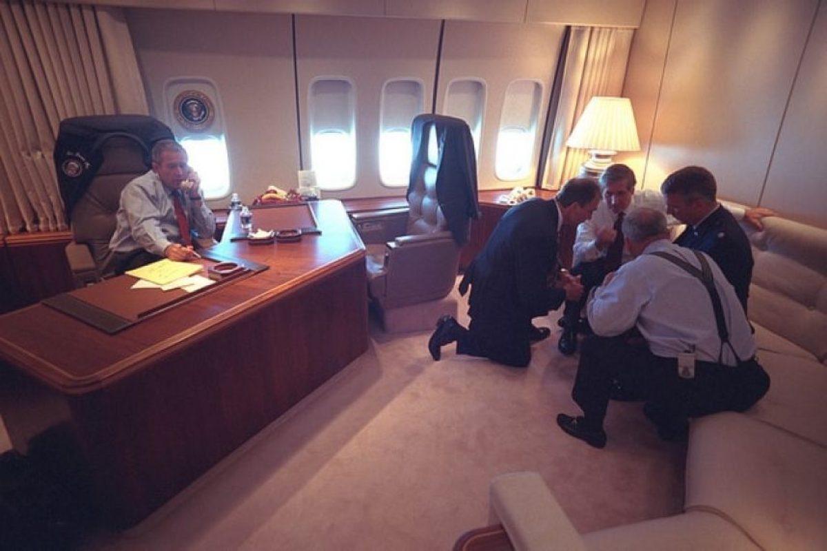 Biblioteca de George W. Bush revela fotos inéditas del 11 de septiembre Foto:George W Bush Presidential Library and Museum. Imagen Por: