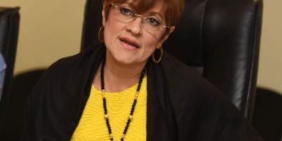 La doctora Bárbara Segarra, decana de la Escuela de la Profesiones de la Salud. Foto:Dennis Jones. Imagen Por: