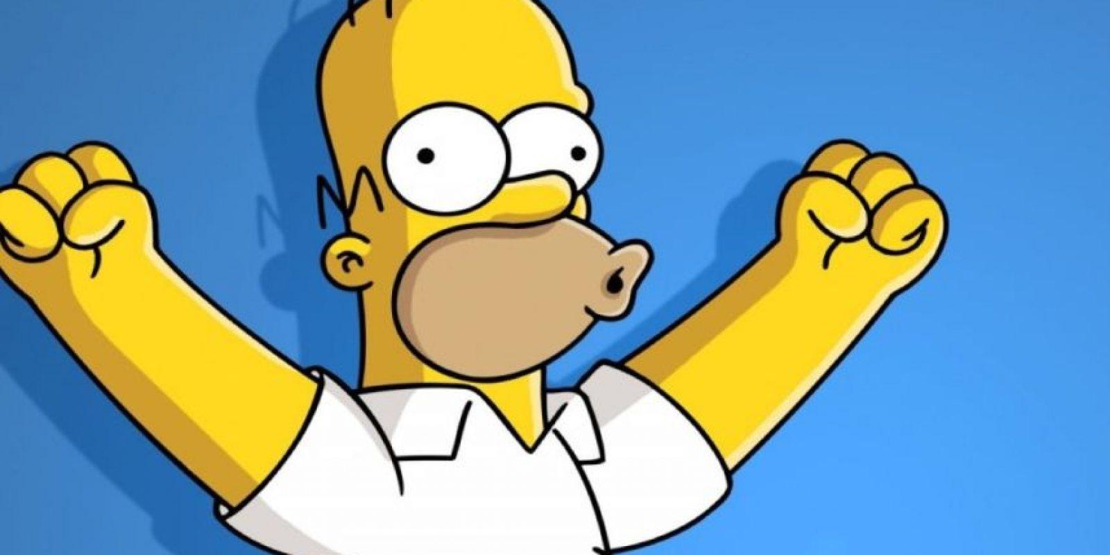 """""""Siempre es bueno decir lo que sientes"""". Foto:Vía Facebook/Simpsonizados. Imagen Por:"""