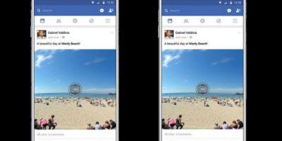 Los videos de 360º llegaron a Facebook en 2015. Foto:Facebook. Imagen Por: