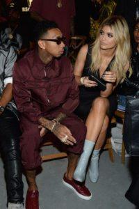 Kylie no lucía tan interesada… Foto:Getty Images. Imagen Por:
