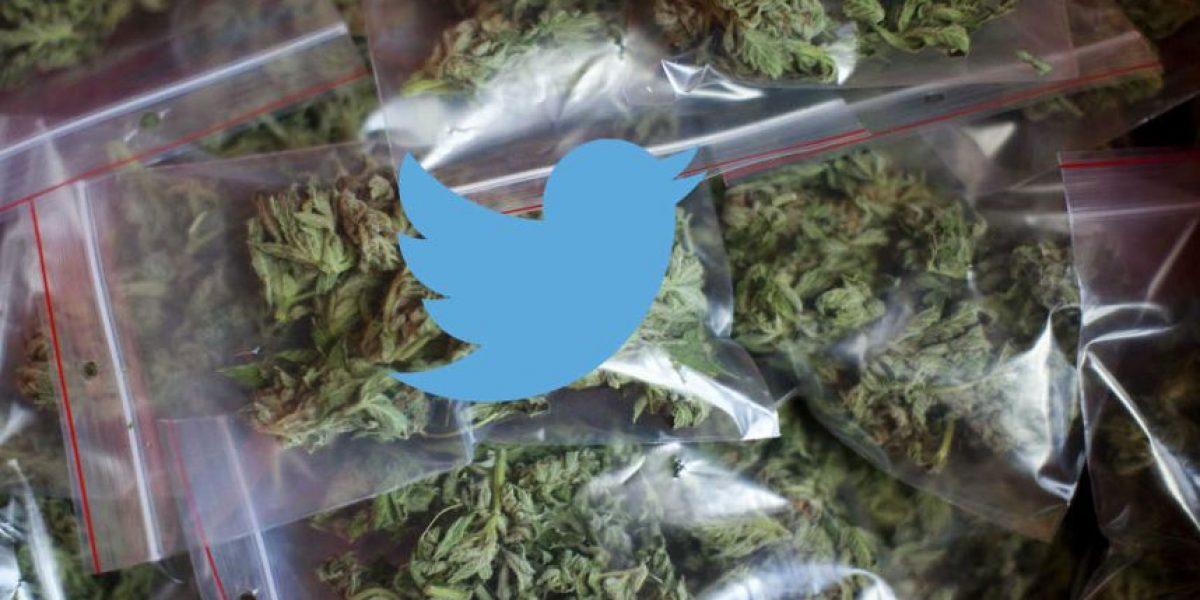 Chica busca comprar droga vía Twitter y la policía le responde