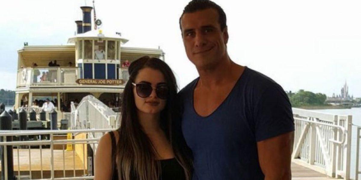 ¿Paige y Alberto del Río son la nueva pareja de WWE?