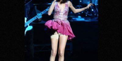 El spándex de Selena. Foto:vía Getty Images. Imagen Por: