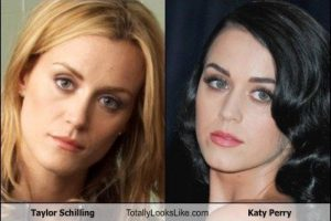 2. Taylor Schilling de Orange is the New Black y Katy Perry Foto: TotallyLooksLike.com. Imagen Por: