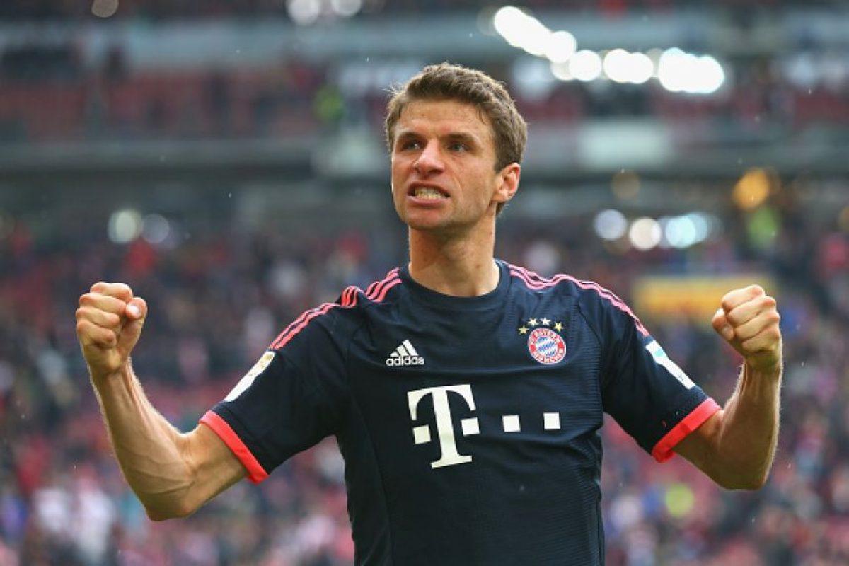6. Thomas Müller / 75 millones de euros Foto:Getty Images. Imagen Por: