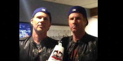 1. Chad Smith y Will Ferrel Foto: Twitter.com/RHCPChad. Imagen Por: