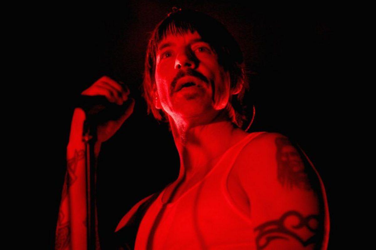 Anthony Kiedis, de 53 años, es miembro fundador del grupo Foto:Getty Images. Imagen Por:
