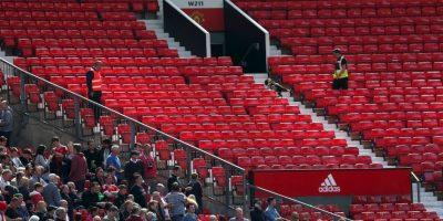 Pero luego se evacuó el estadio completo. Foto:Getty Images. Imagen Por: