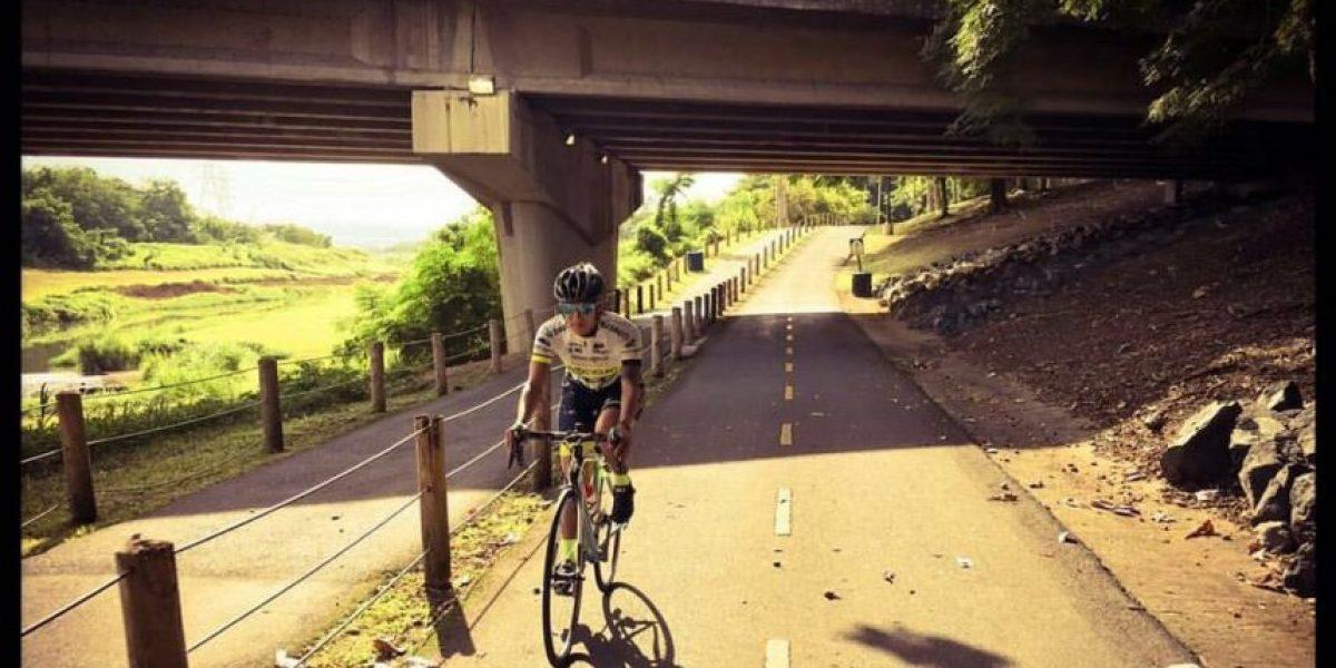 Dio la batalla contra el cáncer cervical a través del ciclismo