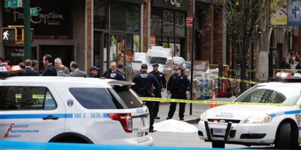 Tiroteo policial en Manhattan deja un muerto