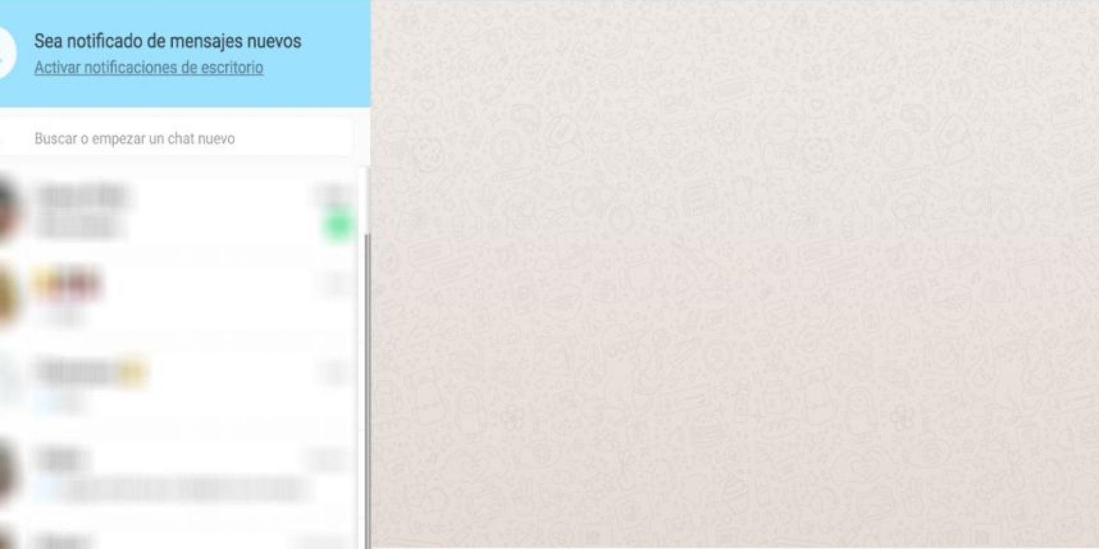 WhatsApp para PC y Mac. Foto:WhatsApp. Imagen Por: