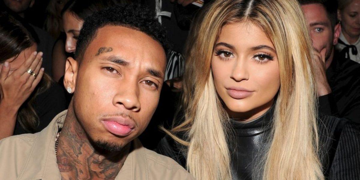 Aseguran que video íntimo de Kylie Jenner y Tyga fue filtrado