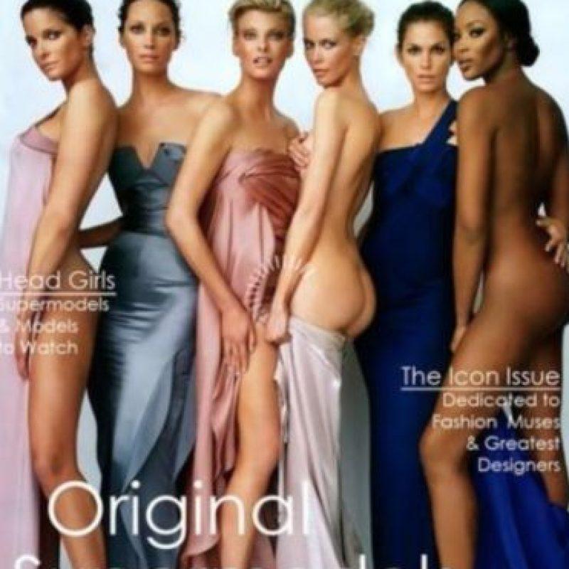 Fueron las estrellas del modelaje más importantes de hace dos décadas. Foto:vía Vogue. Imagen Por: