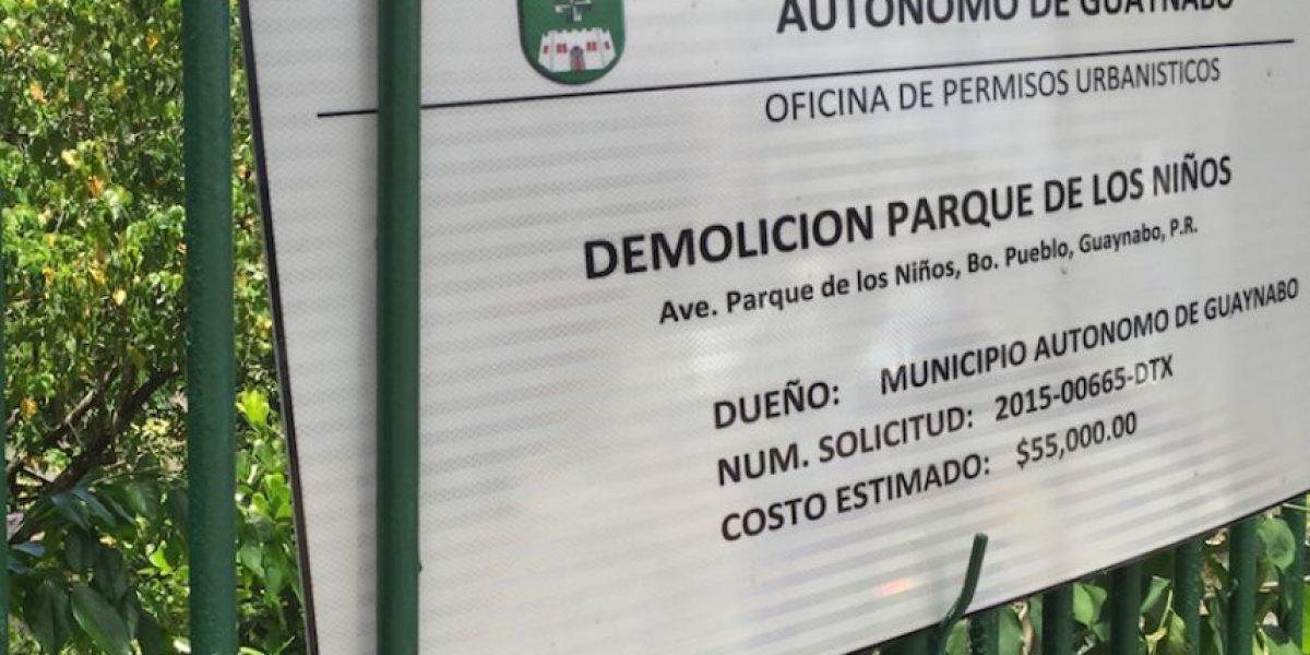 Denuncian vertedero en parque infantil de Guaynabo