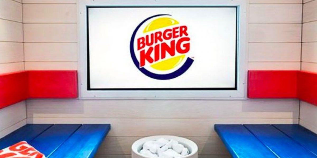 Increíble: Primer spa con sauna de Burger King