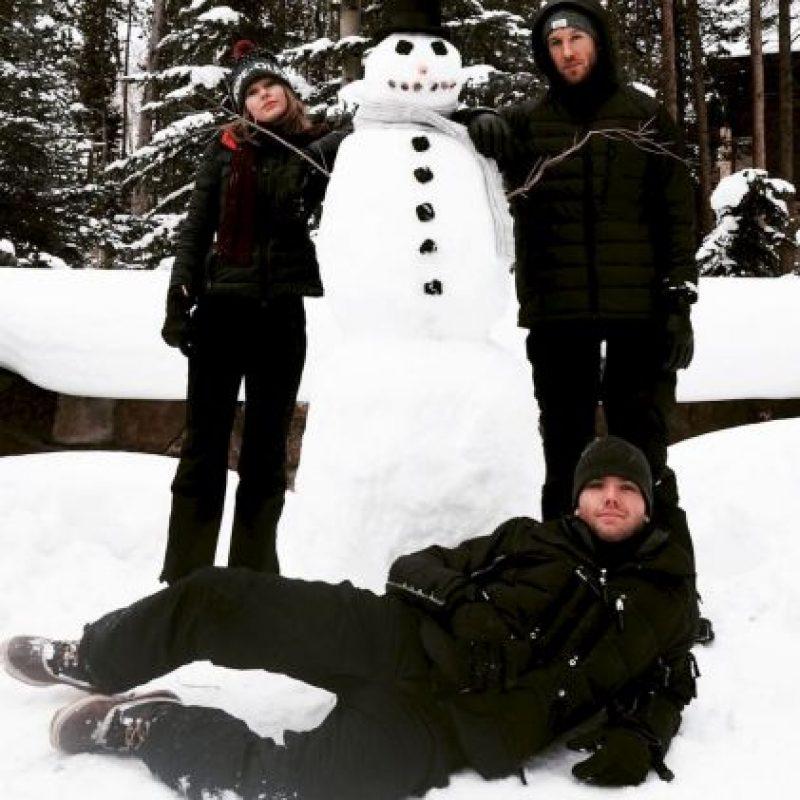 Aunque son muy pocas las veces en que se les ve como novios… Foto:vía instagram.com/taylorswift. Imagen Por: