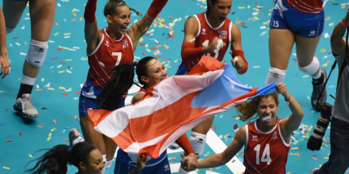 Histórica participación de la selección de voleibol femenino