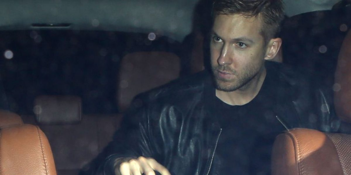 Revelan fotos del accidente de Calvin Harris