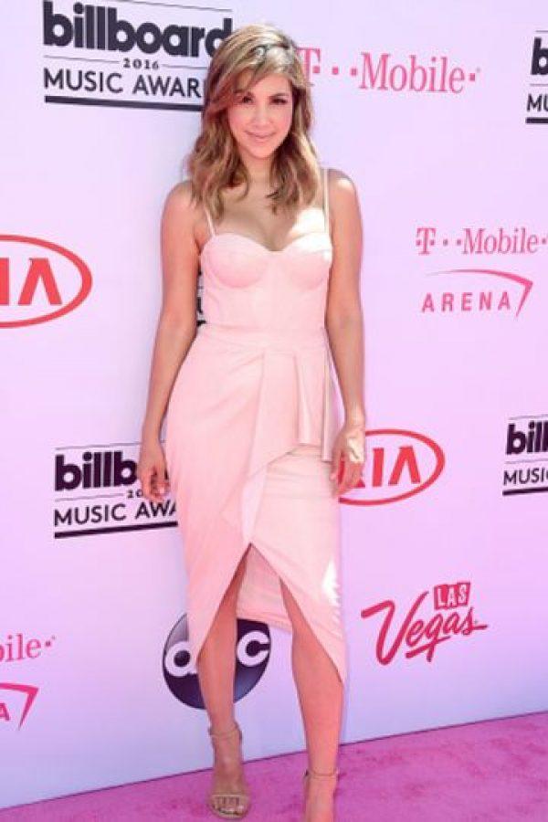 Liz Hernandez, sencilla. Dejó que el diseño de su vestido hablara por ella. Foto:vía Getty Images. Imagen Por: