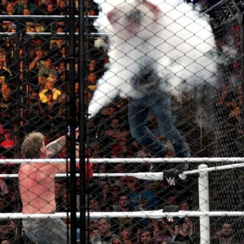 Fue la mejor pelea de la noche Foto:WWE. Imagen Por: