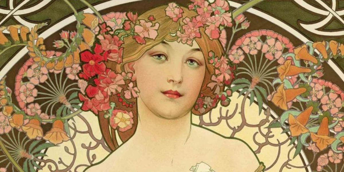 Art Nouveau: decoración y publicidad femenina