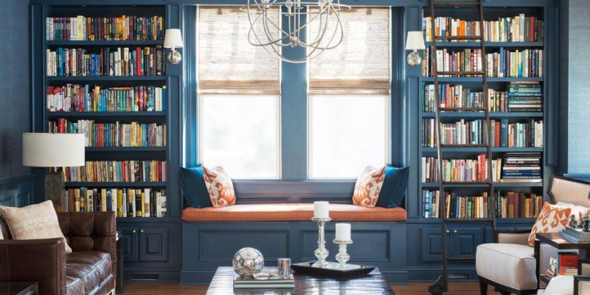 Libros como elemento decorativo