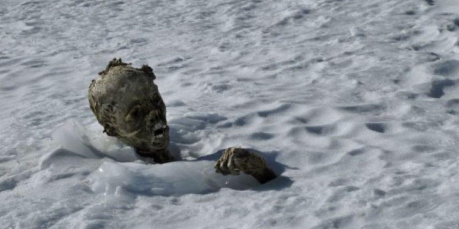 En 2015, se encontraron los restos momificados de tres alpinistas en México Foto:AFP. Imagen Por: