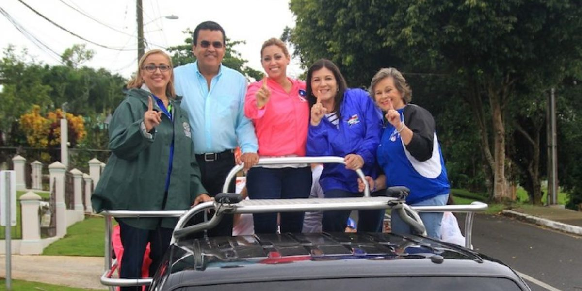 Ricky Rosselló continúa campaña junto a Jenniffer González en el oeste
