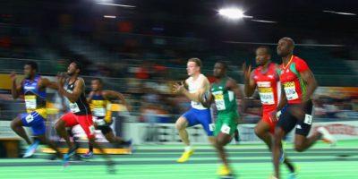 Con 9.93 segundos impuso la segunda mejor marca de la temporada. Foto:Getty Images. Imagen Por: